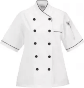 Womens Chef Uniform White