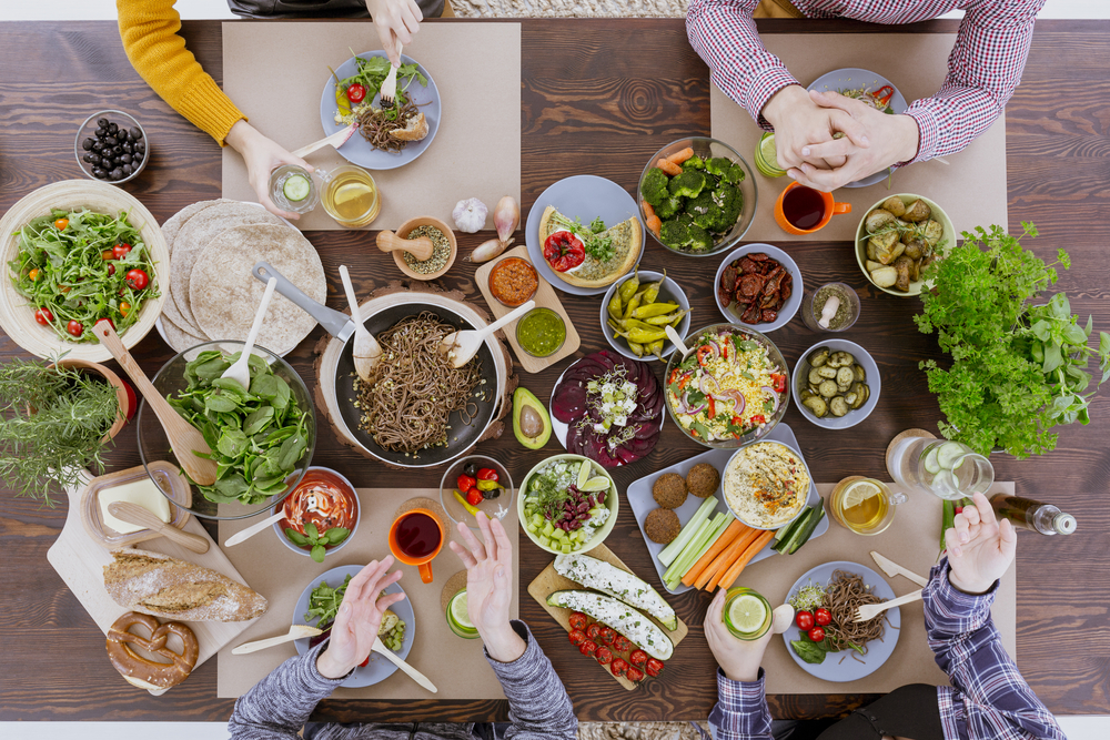 vegetarian and vegan menu options