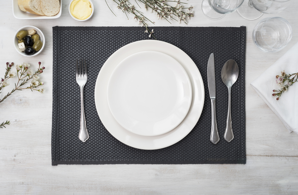 restaurant table setting ideas